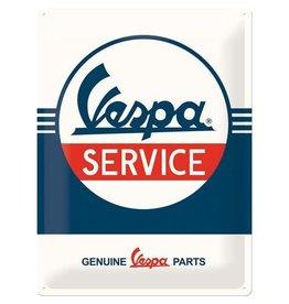 Nostalgic Art bord - Vespa service (large)