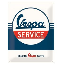 Nostalgic Art sign - Vespa service (large)