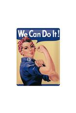 Nostalgic Art bord - we can do it (large)