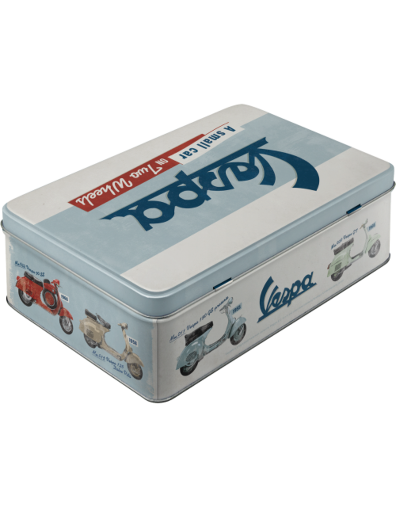Nostalgic Art tin box - flat - vespa