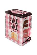 Nostalgic Art tin box - M - bake cake