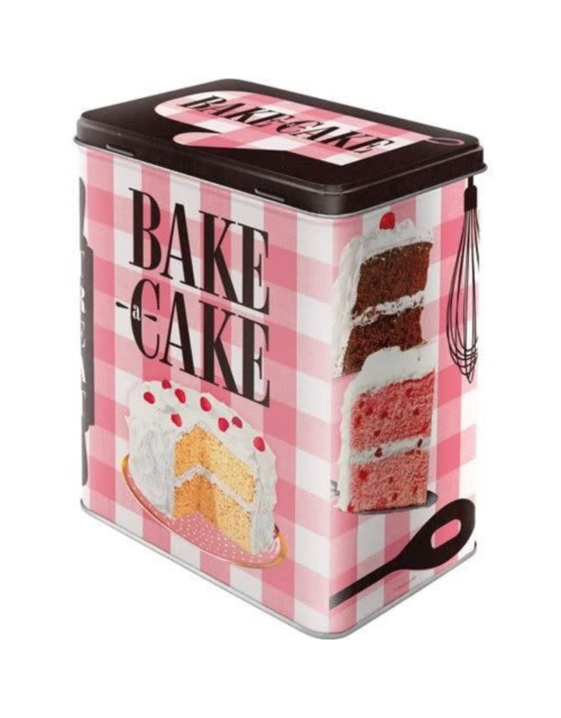 Nostalgic Art tin box - M - bake cake (4)