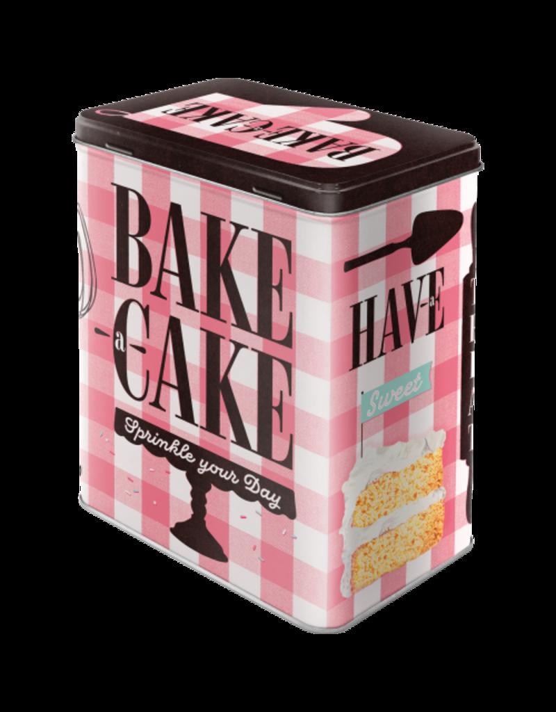 Nostalgic Art blikken doos - M - bake cake