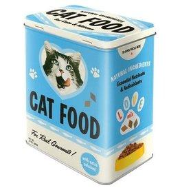 blikken doos - M - cat food