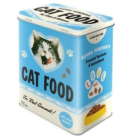 Nostalgic Art tin box - M - cat food