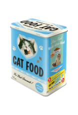 Nostalgic Art tin box - M - cat food