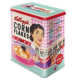 blikken doos - M - cornflakes