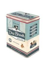 tin box - M - dog biscuits