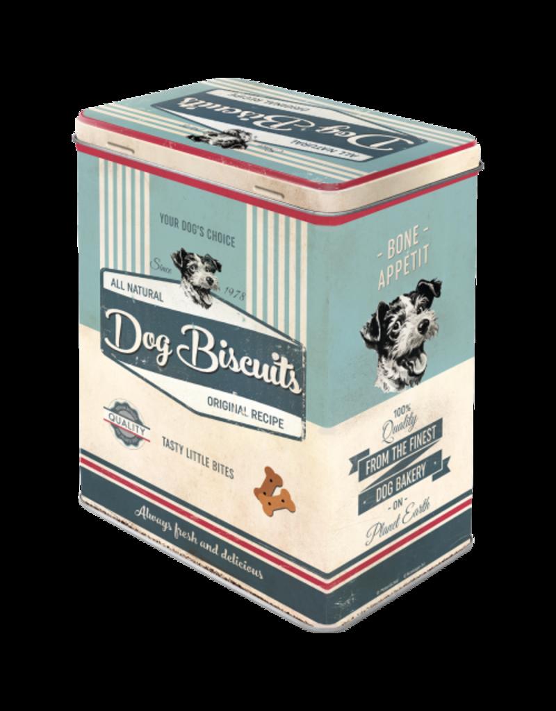 Nostalgic Art tin box - M - dog biscuits