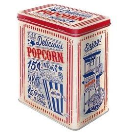 blikken doos - M - popcorn