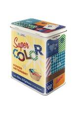 Nostalgic Art blikken doos - M - super color