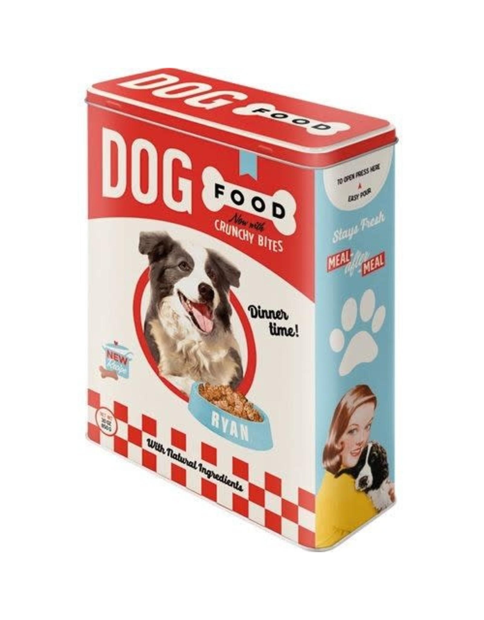 tin box - XL - dog food