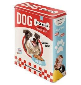 blikken doos - XL - dog food
