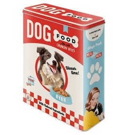 Nostalgic Art tin box - XL - dog food