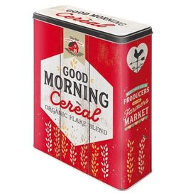 Nostalgic Art blikken doos - XL - good morning cereal
