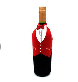 Invotis wijnfleshoes - wine butler (rood)