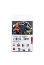 light string - photo clips (rainbow)