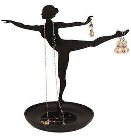 Kikkerland jewelry stand - ballerina
