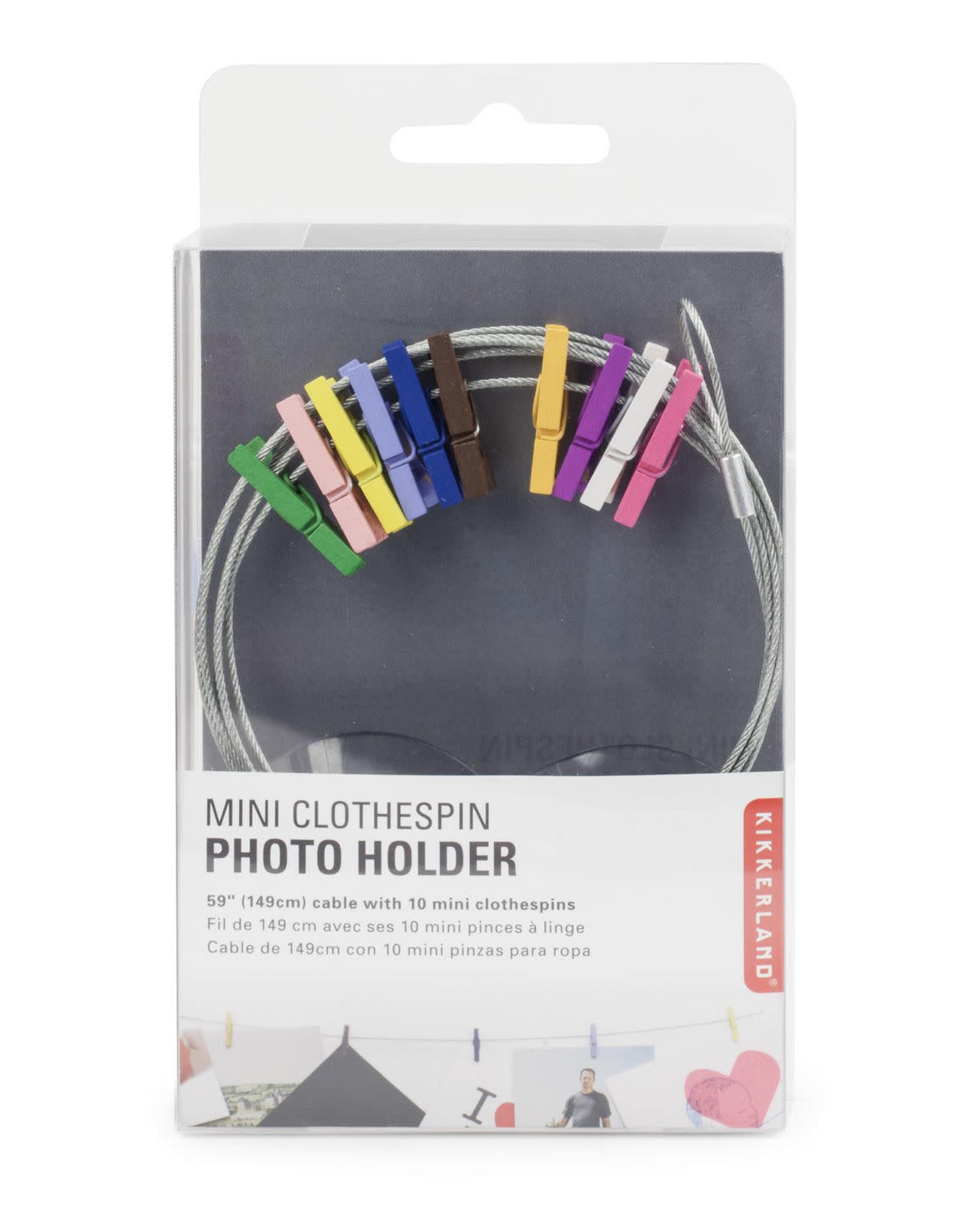 photo holder - wire W/10 multico