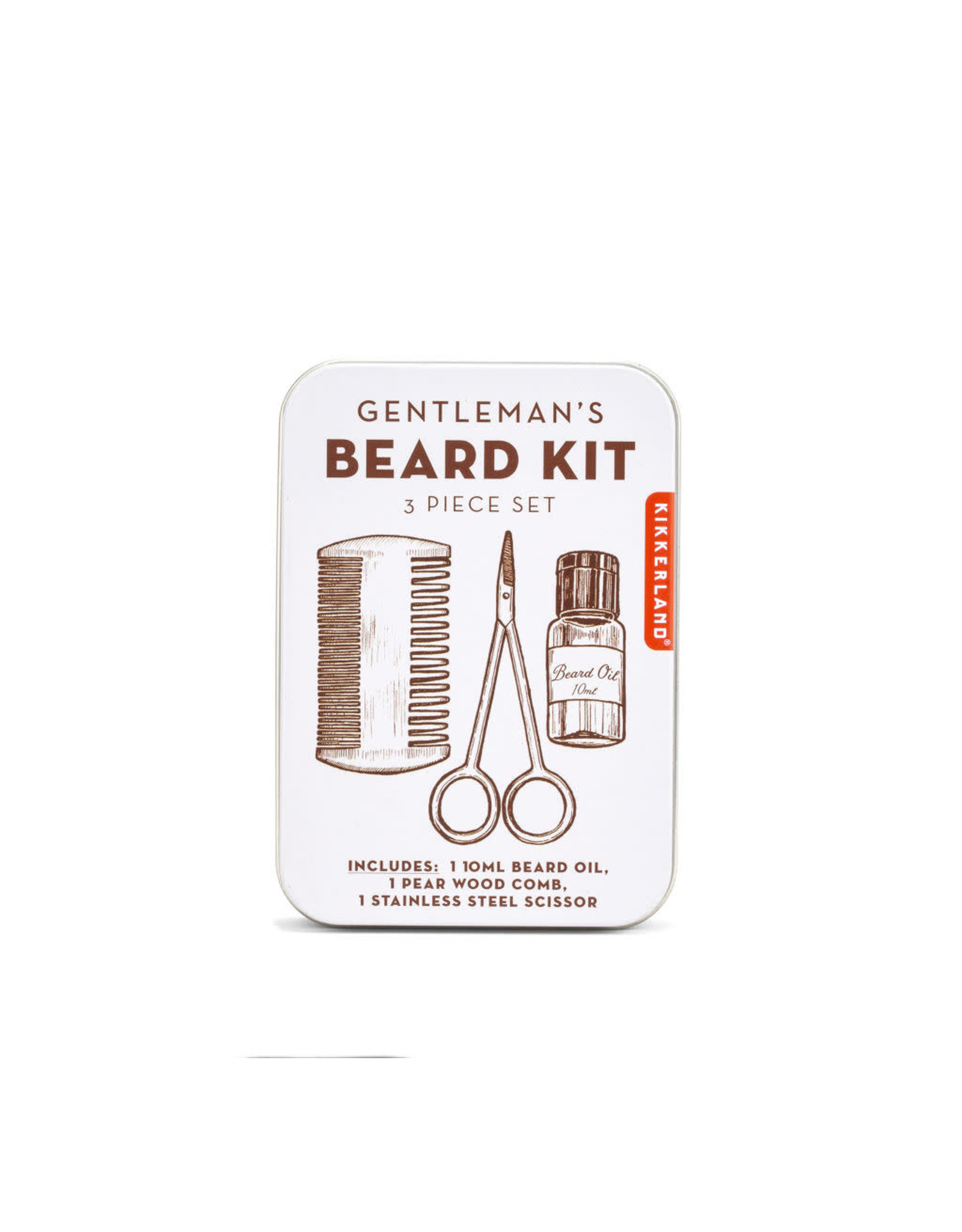 3 piece set for grooming your beard