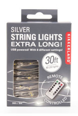 string light - extra long (silver)