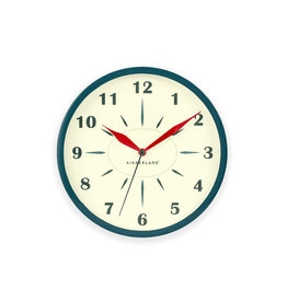 Kikkerland clock - britannic (blue)