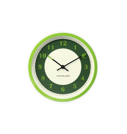 Kikkerland clock - viridity (green)