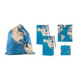 zakken - wereldkaart