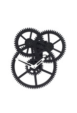 wall clock - triple gear