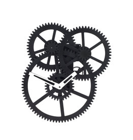 Kikkerland wall clock - triple gear