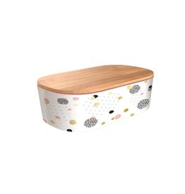 Chic Mic lunchbox deluxe - dotted pattern (gold)