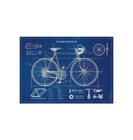 Cavallini decoratieve poster - fiets