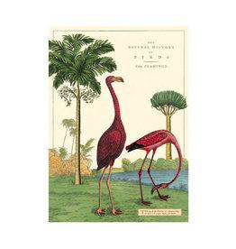 Cavallini decoratieve poster - flamingo