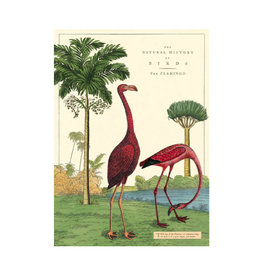 Cavallini decorative wrap - flamingo