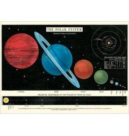 Cavallini decoratieve poster - zonnestelsel