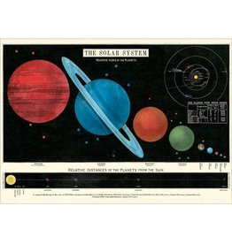 Cavallini decorative wrap - solar system