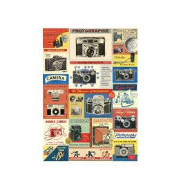 Cavallini decoratieve poster - vintage camera's