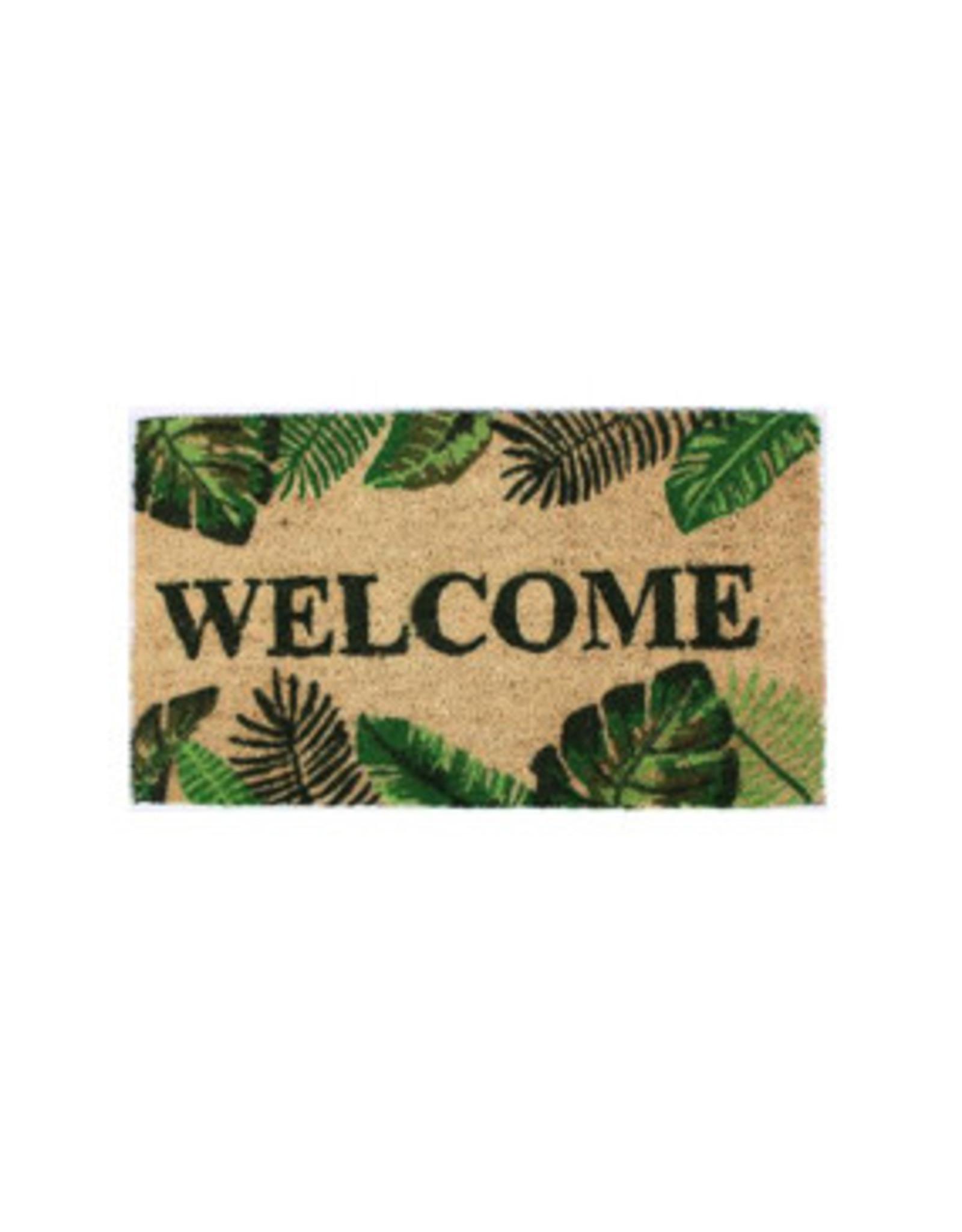 doormat - welcome (tropical)
