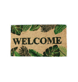 La Finesse doormat - welcome (tropical)