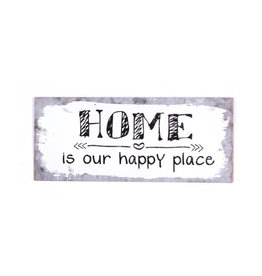 sign - home is our happy place