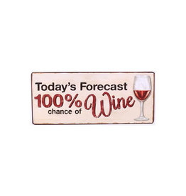 La Finesse bord - today's forecast 100% chance of wine