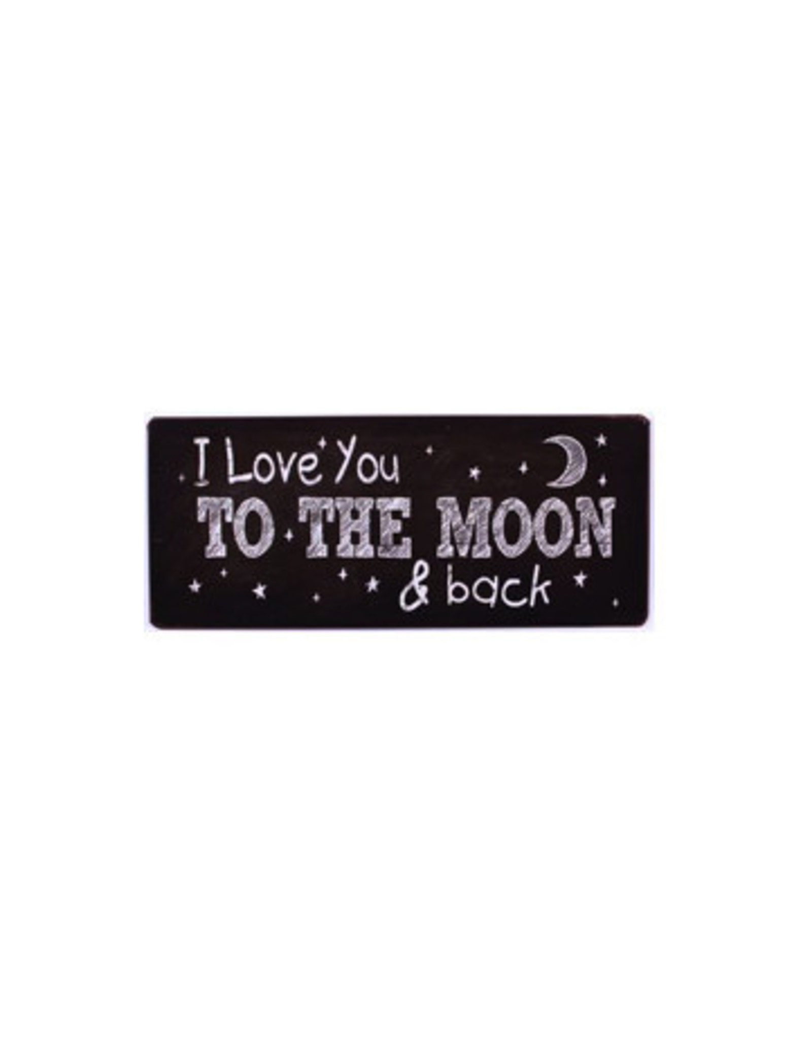 sign - i love you to the moon and back