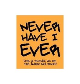 boek - never have I ever