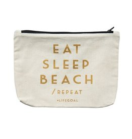 Timi pouch - eat sleep beach
