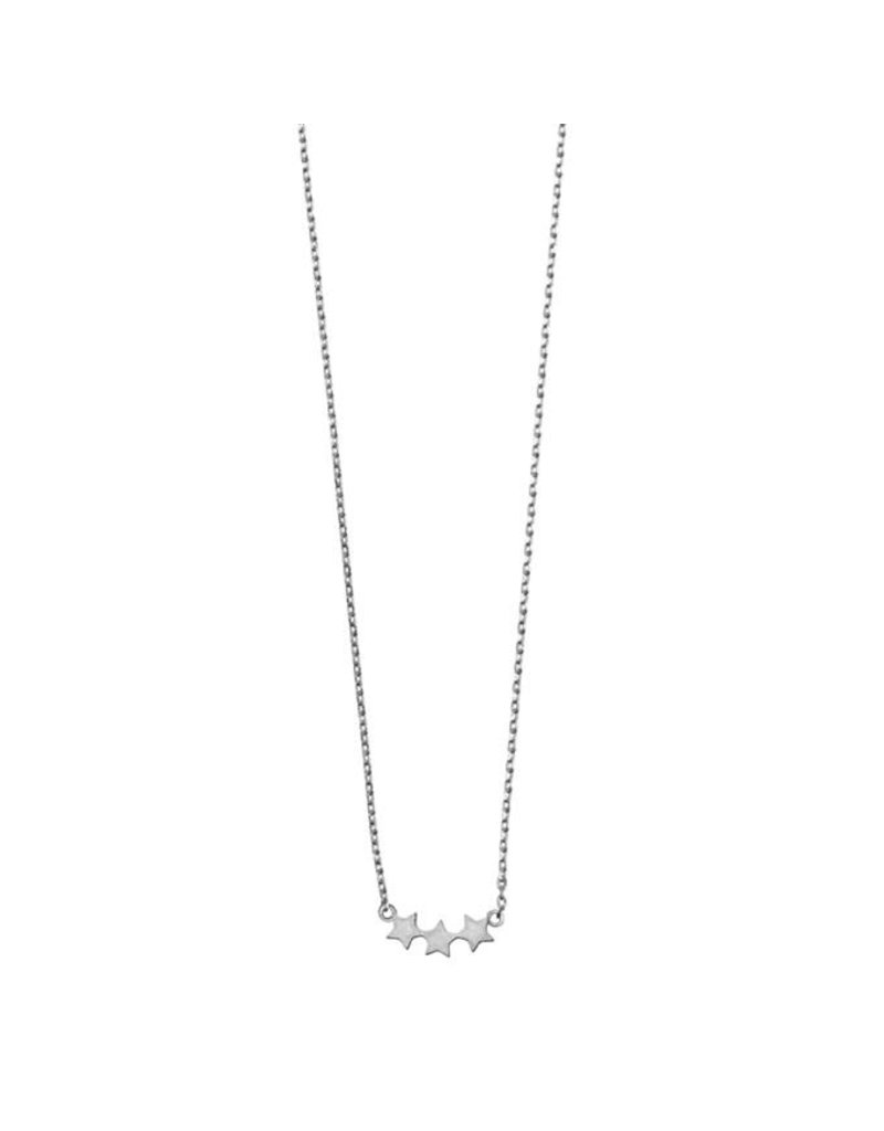 Timi necklace - 3 stars (silver)