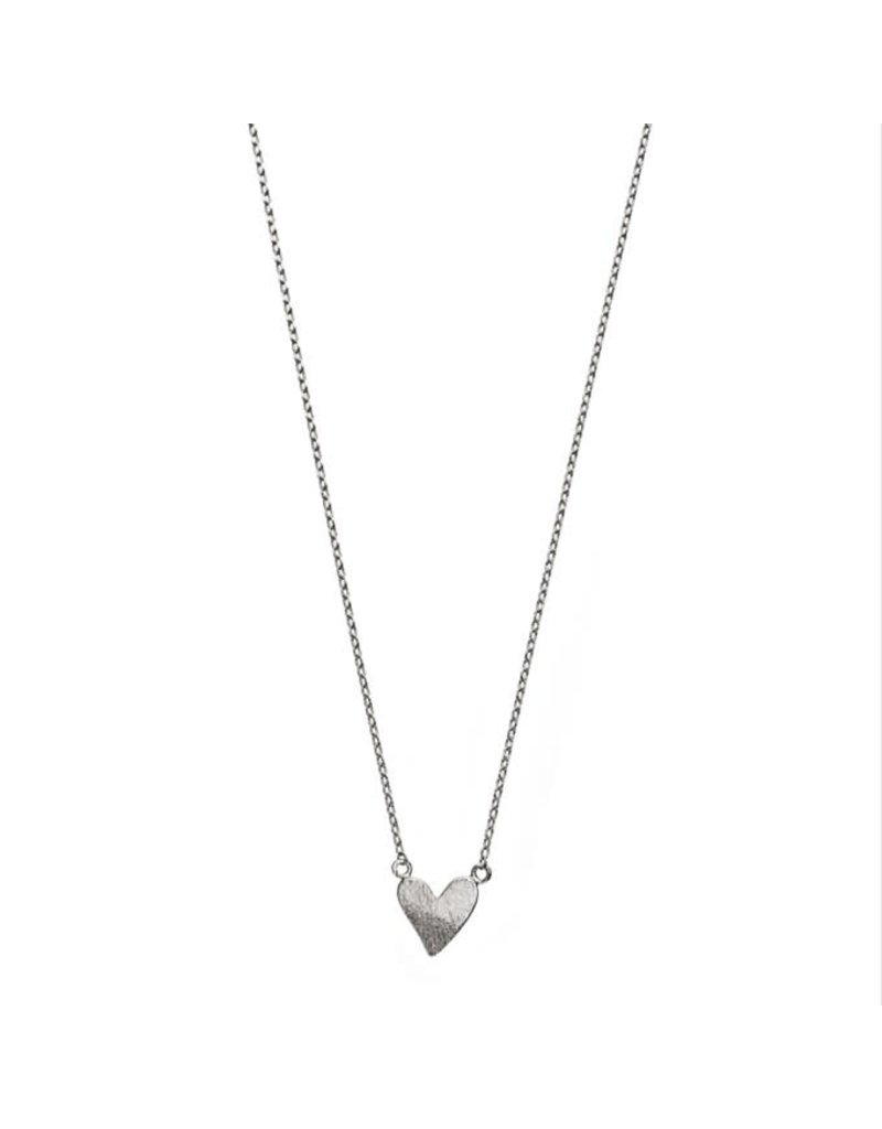 Timi ketting - hart (zilver)
