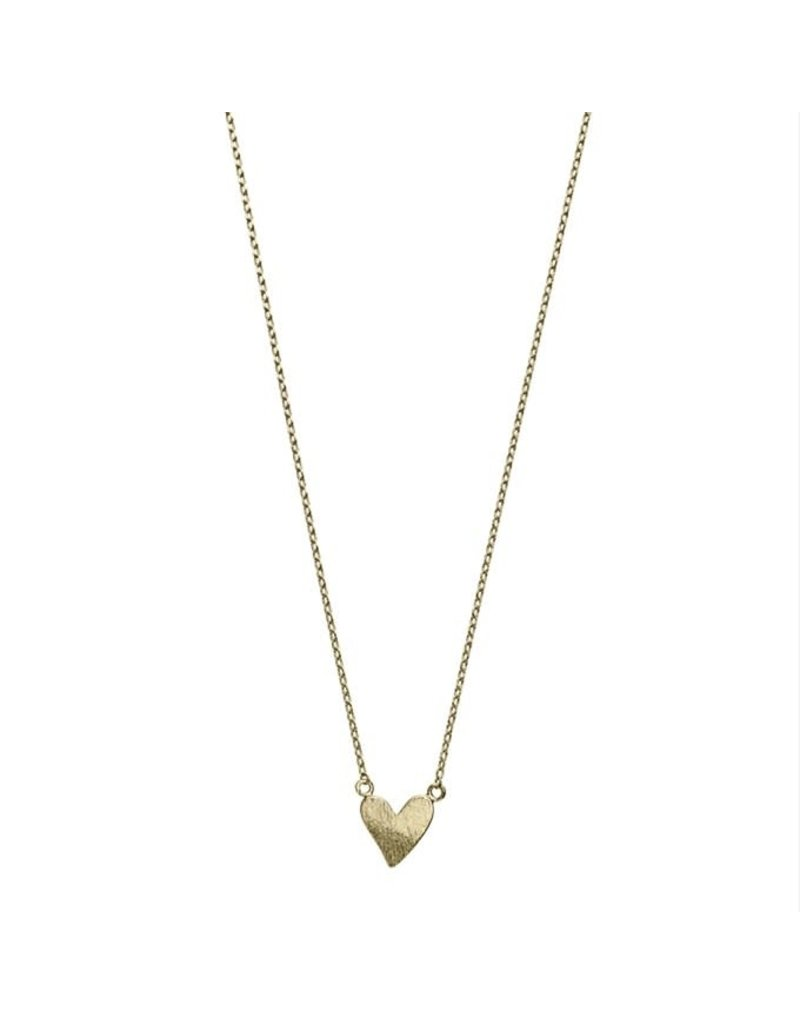 Timi necklace - heart (gold)