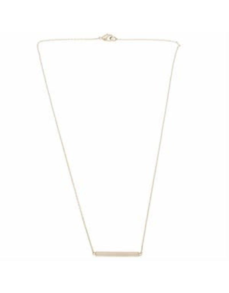 Timi necklace - bar (silver)