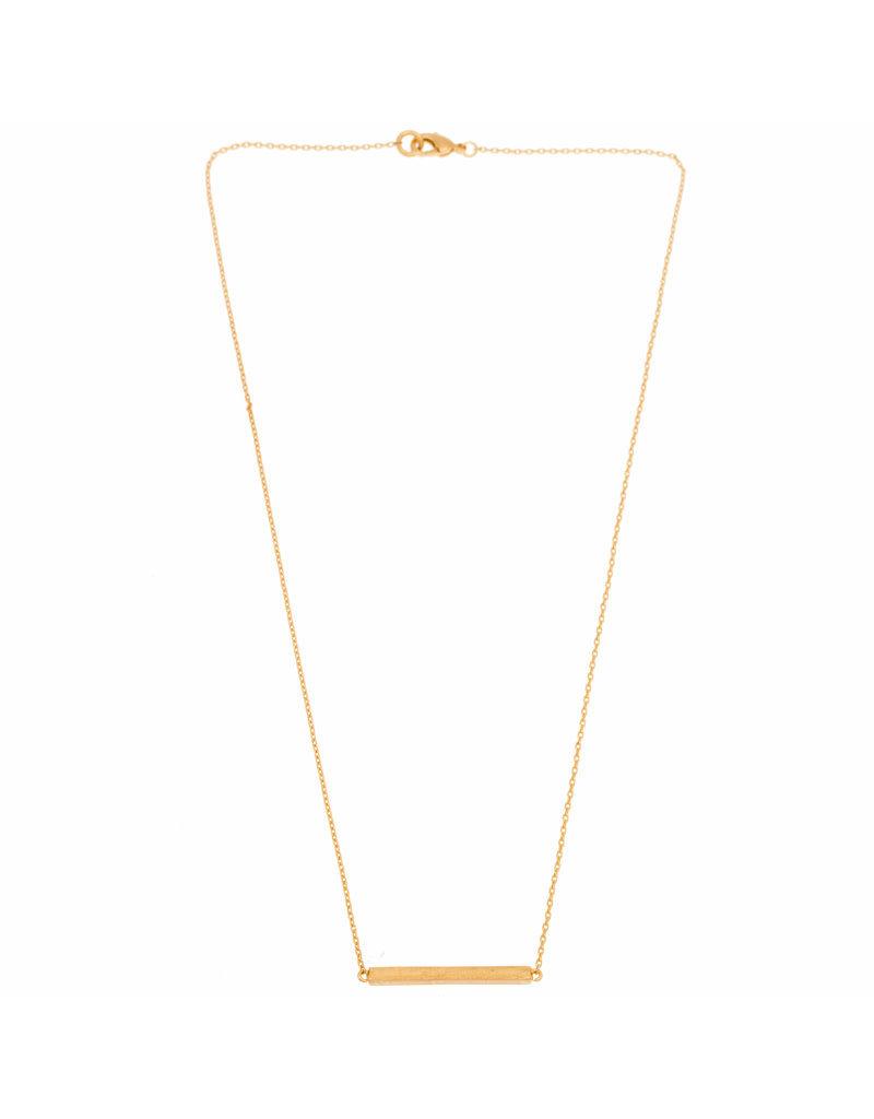 Timi ketting - bar (goud)