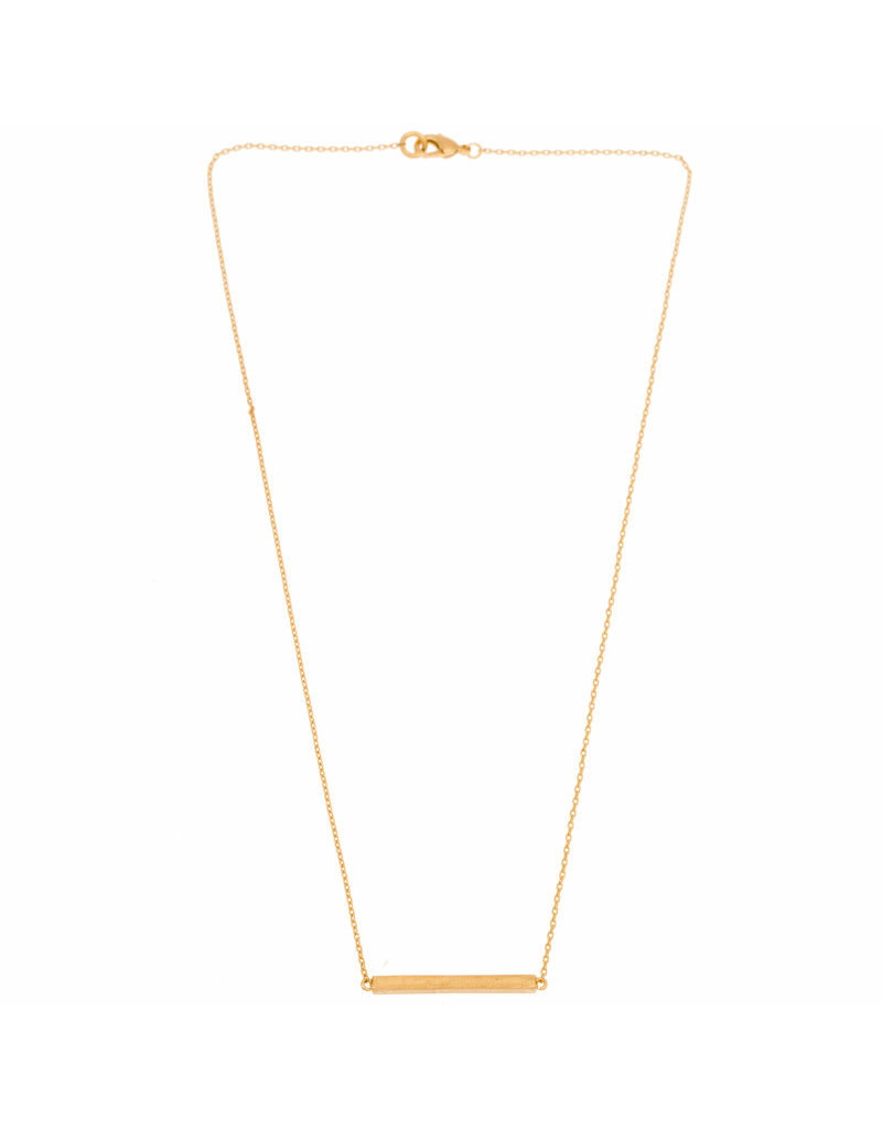 Timi necklace - bar (gold)